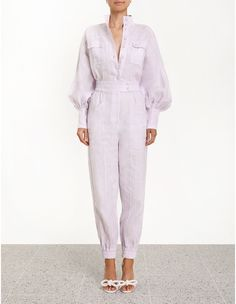 Discover the latest collection of designer jumpsuits & playsuits with ZIMMERMANN. Find the one that suits your style by shopping online or instore. Fashion Days, Fashion Outfits, Iranian Women Fashion, Designer Jumpsuits, Boiler Suit, Classy Casual, Contemporary Fashion, Playsuits, Jumpsuits For Women
