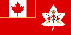 Flag of the Canadian Army Canadian Army, Alternate History, Military History, Canada, In This Moment, Badges, Flags, Cold War, Art