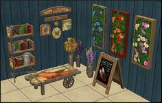 Hello again! I converted these cute items for sims who love gardening. All items have recolors. Enjoy! Download here: http://www.mediafire.com/?if3ej3xs3522e9 e
