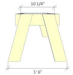 Folding Picnic Table Plans - Easy To Build Projects - Wood Bench Plans, Garden Bench Plans, Woodworking Bench Plans, Woodworking Furniture, Wood Shop Projects, Pvc Projects, Diy Furniture Projects, Folding Picnic Table Plans, Diy Picnic Table