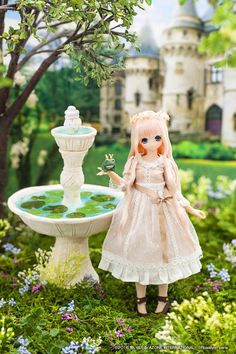 Miu and The Frog Prince Azone dolls