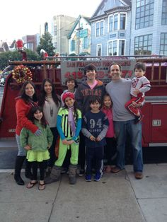 Spending the holidays in SF with with the kids.