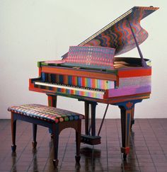 Nancy Mooslin Painted Piano Sculpture Seems So Right