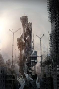 Galería de Visualización en Arquitectura: Megalomania / Jonathan Gales - 17