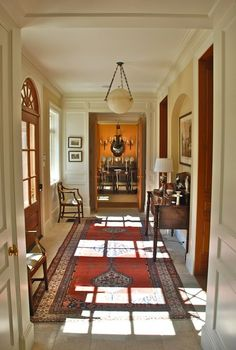 formal entry hall. Jerry L. Coleman.