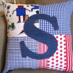 Boys Personalised Cushion