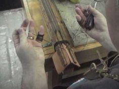 Video shows how to hand stitch a line from beginning to end.