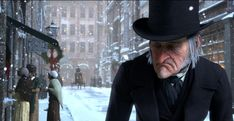Disney's A Christmas Carol on Sky Cinema - animated version of Dickens' classic tale with Jim Carrey as Ebeneezer Scrooge Jacob Marley, Scrooge Movie, Christmas Carol Charles Dickens, Catholic Social Teaching, Ebenezer Scrooge, Best Christmas Movies, Holiday Movies, Christmas Stuff, London Places