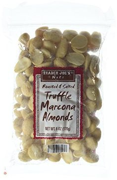Trader Joe's Roasted & Salted Truffle Marcona Almonds - P...