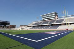 10 high school football stadiums to see before you die - MaxPreps. This is really pretty cool. Football Stadiums, Football Field, High School Football, School Sports, Fields, Allen Texas, Fight Fight, City