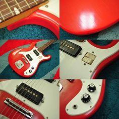 グヤトーン Guyatone LG-125T レアなビザールギター 1960年代製 - ヤフオク!