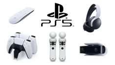 New PlayStation DualSense Accessories for PlayStation 5 standard and digital systems. Playstation Consoles, Playstation Games, Chicken Logo, Newest Playstation, New Technology Gadgets, Gaming Accessories, Jack Jones, Video Game Console, Xbox One