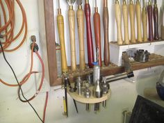 Tool storage ideas for a lathe