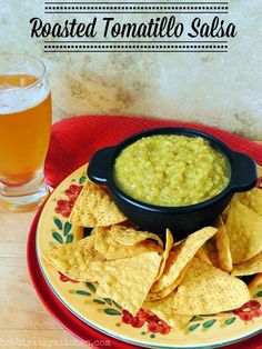 Bobbi's Kozy Kitchen: Roasted Tomatillo Salsa