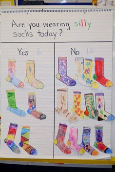 Mrs. Ricca's Kindergarten: Happy Birthday Dr. Seuss! Wear silly socks, color and graph @Connie Parrish