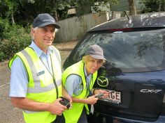 Browns Plains #Police and Volunteers in Policing (VIPs) protecting your number plates | Logan