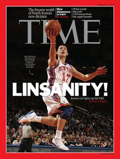 Jeremy Lin on the cover of TIME (Asia Edition) next week.