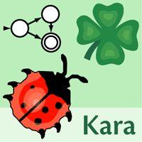 Kara - Programmieren lernen mit endlichen Automaten (für Kinder)