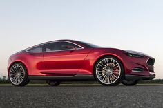 Concept mustang. Interesting.. I doubt this will make its way to the American market in the next 5 years.
