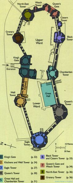 Image detail for -1002wales-2008-castle-plan-caernarfon-08.08.20.jpg