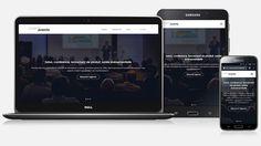 création du site internet responsive Corpo'Events Internet, Events, Business