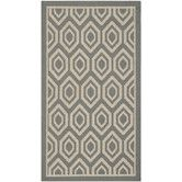 Found it at Wayfair.co.uk - Courtyard Anthracite/Beige Loomed Rug II