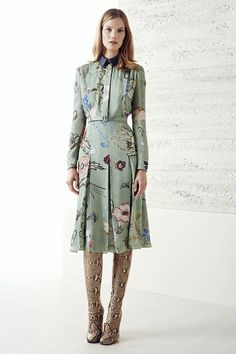 Gucci | Cruise/Resort 2015 Collection via Designer Frida Giannin | June 3, 2014; New York | Style.com