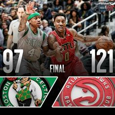Jeff Teague leads the Hawks to the road win over Isaiah Thomas and the Celtics in Boston.