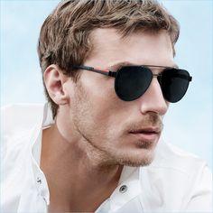 3e4d9cc239474 Clément Chabernaud Reunites with Prada for Eyewear Campaign