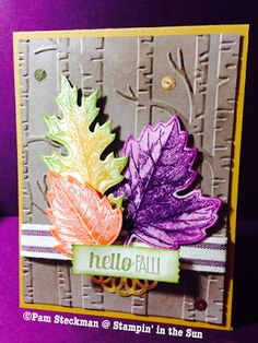 Stampin' in the Sun: Fab Friday #71 Color Challenge