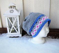 Lothepuslue for barn Winter Hats, Crochet Hats, Beanie, Fashion, Threading, Knitting Hats, Moda, Fashion Styles, Beanies