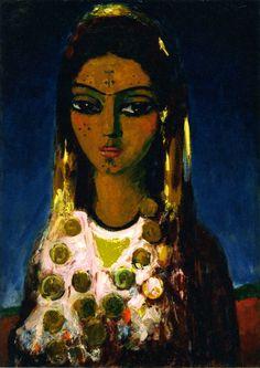 The Athenaeum - Arab Woman (Kees Van Dongen - No dates listed)