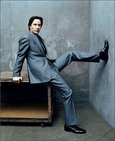 Leg up Keanu...