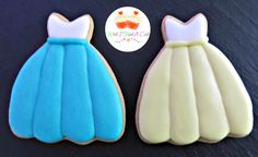 Prom Dress Cookies by Wish I Had A Cake