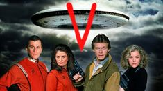 V -The Series 1984 Marc Singer/Faye Grant/Michael Ironside Aliens, Faye Grant, V Tv Show, Marc Singer, Tv Vintage, Original Tv Series, Science Fiction Series, Sci Fi Tv, Sci Fi Series
