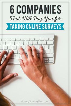 6 Companies That Will Pay You for Taking Online Surveys - Money Saving Mom® Quick Cash Loan, Fast Cash Loans, Online Loans, Earn Money Online, Earning Money, Blogging, Easy Loans, Apply For A Loan, About Me Page