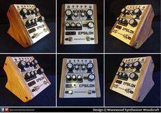 Dreadbox Epsilon panels in Walnut & Light oak Light Oak, Wood Design, Wood Paneling, Wood Crafts, Wooden Panelling, Woodwork, Wood Turning, Woodworking Crafts, Tree Designs