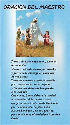 Oracion del maestro