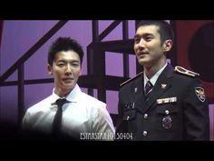 [160109 fancam] 경찰홍보단 뮤지컬&힐링콘서트 - 엔딩멘트& 커튼콜 (Donghae ending ment & curta...