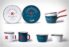 Seamless Steadfast Enamelware, by Best Made Company