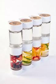 Resultado de imagem para garrafa de fruta