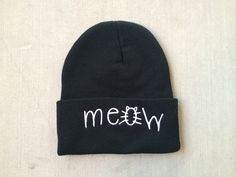 Meow Beanie- I got a thing for adorable beanies