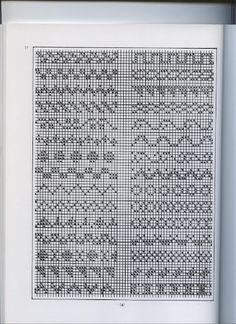 Traditional Fair Isle Knitting by Sheila McGregor - Beata J - Picasa Web Album Fair Isle Knitting Patterns, Knitting Charts, Knit Patterns, Stitch Patterns, Fair Isle Chart, Pixel Pattern, Mittens Pattern, Cross Stitch Borders, Chart Design