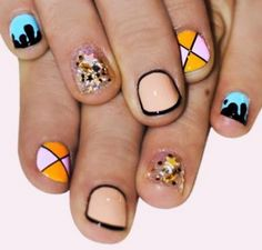 Very small nails designs 2015