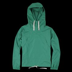 Beams+ - Recycle Poly Ripstop USN Anorak in Green