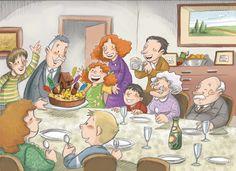 Praatplaat familiediner