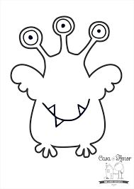 Monster 1st Birthdays, Monster Birthday Parties, Monster Party, Cute Monsters, Little Monsters, Coloring For Kids, Coloring Books, Doodle Monster, Monster Coloring Pages