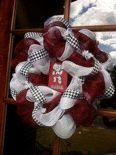 Poly Mesh Bama Wreath by itzybitzyboutique on Etsy, $70.00