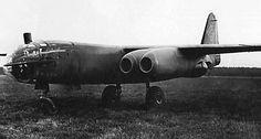 Late war German jet bomber, the Arado Ar 234-C