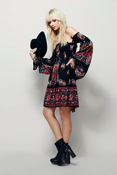 Spell & the Gypsy Collective Hotel Paradiso Mini Dress at Free People Clothing Boutique